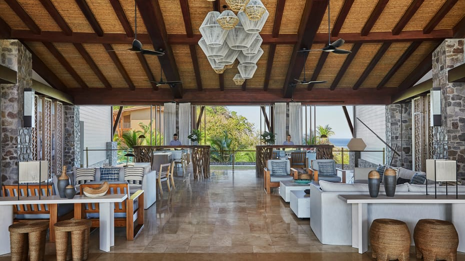 Lobby at Four Seasons Costa Rica Peninsula Papagayo