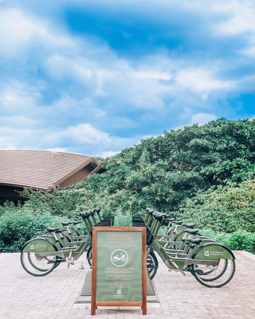Electric Bikes at Four Seasons Costa Rica