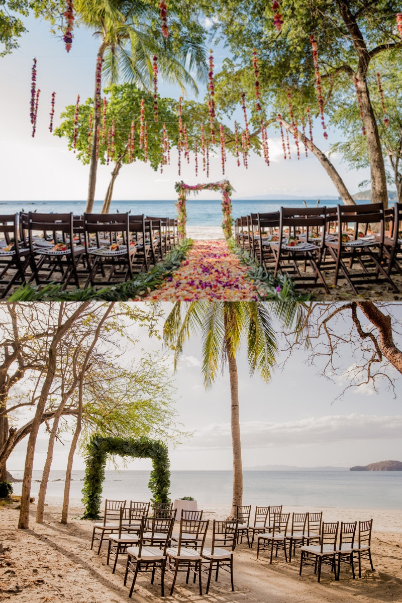 Wedding Ceremonies at Virador Beach at Four Seasons Costa Rica
